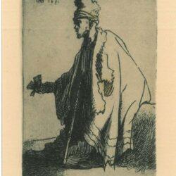 Rembrandt, Etching, Bartsch B. 171,
