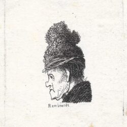 Rembrandt, Bartsch B. 326, New Hollstein 35, copy b,