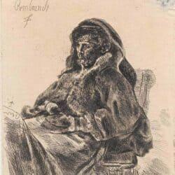 Rembrandt, Bartsch B. 343, New Hollstein 91,